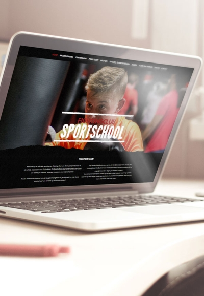 Sportschool Webdesign