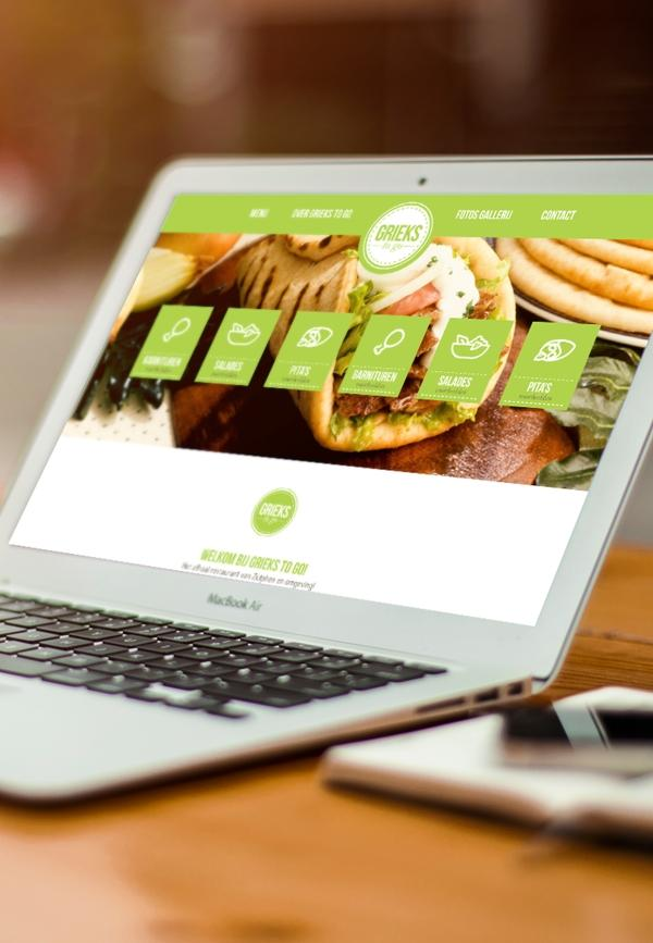 Grieks to go Webdesign