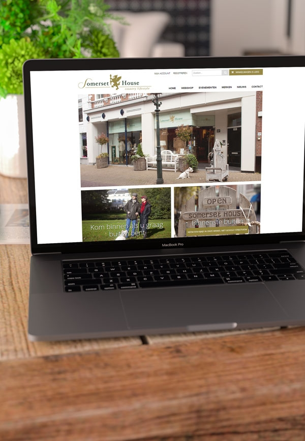 Somerset house webdesign
